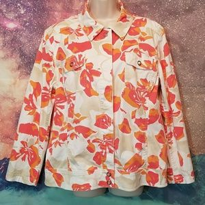 ♡ $20 Flash Sale Floral Jacket